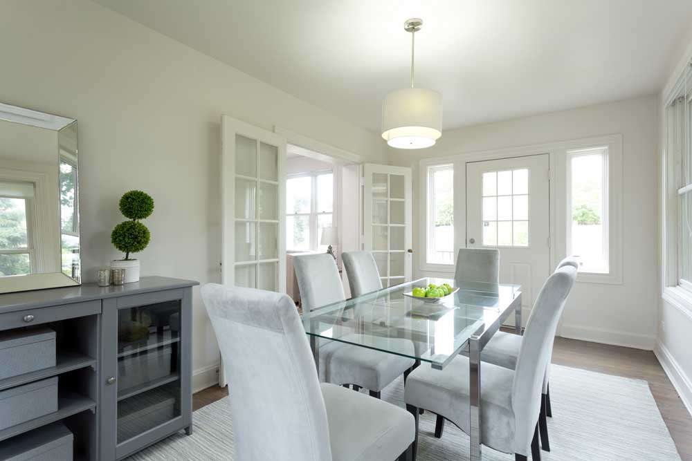 Westover Townhomes dining room