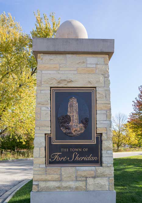 The Town Of Fort Sheridan National Historic Landmark district