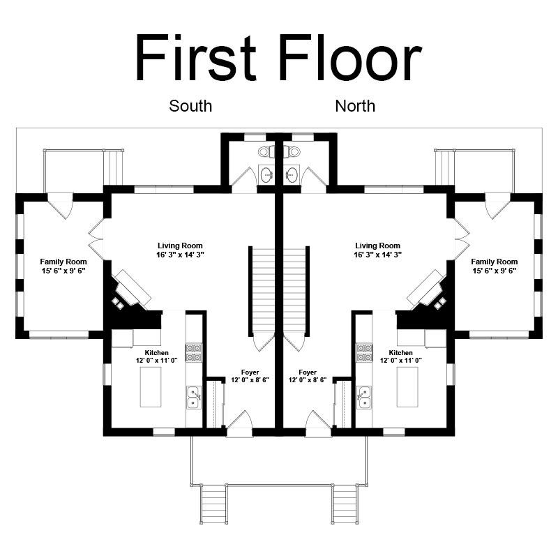 Floor Plan - First Floor Archives